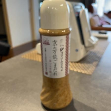 ゴマソムリエの京の万能ごまだれ 【釜屋】のパッケージ画像