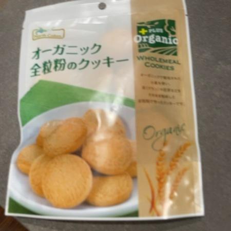 オーガニック全粒粉のクッキー 【ノースカラーズ】のパッケージ画像
