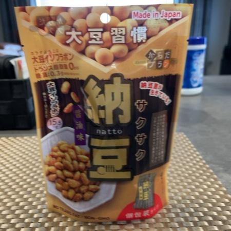 大豆習慣 サクサク納豆 【MDホールディングス】のパッケージ画像