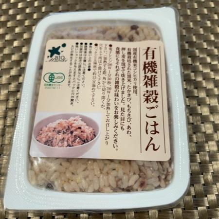 有機雑穀ごはん 【ビオ・マーケット】のパッケージ画像