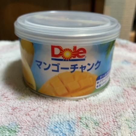 マンゴーチャンク 【Dole】【缶】【季節限定商品】のパッケージ画像