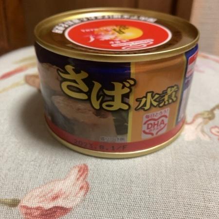 さば水煮月花 【マルハニチロ】【缶】のパッケージ画像