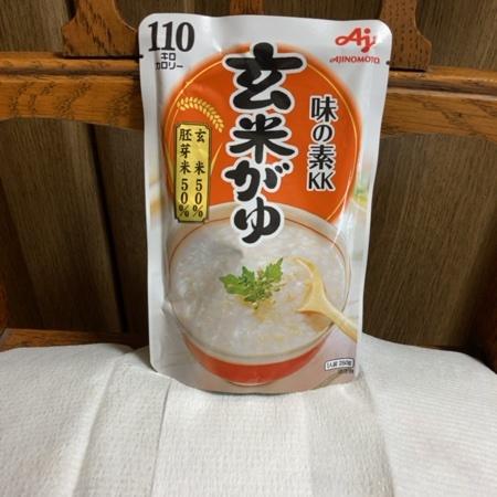 玄米がゆ 【味の素】のパッケージ画像