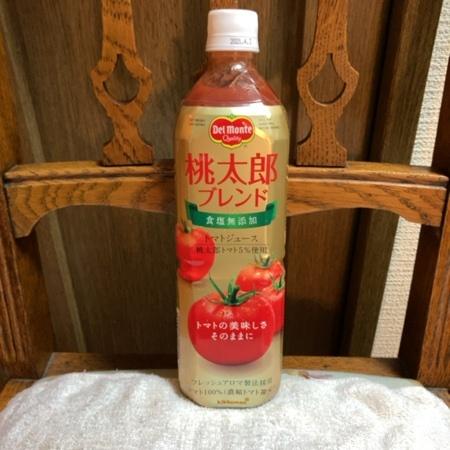 食塩無添加トマトジュース 桃太郎ブレンド 【デルモンテ】のパッケージ画像