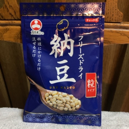フリーズドライ納豆 粒タイプ 【旭松食品】のパッケージ画像