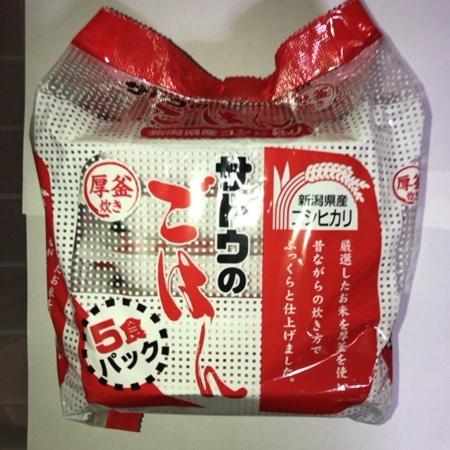 サトウのごはん 新潟県産コシヒカリ 【サトウ食品】のパッケージ画像