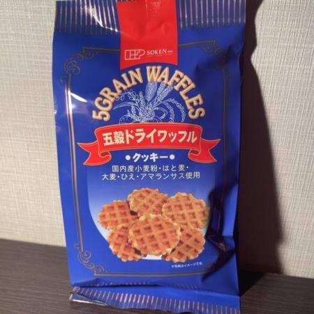 五穀ドライワッフル 【創健社】のパッケージ画像
