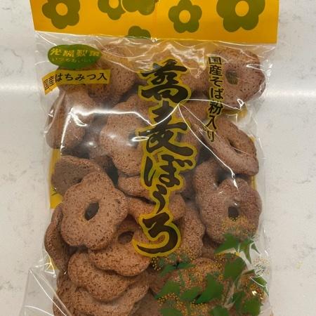 蕎麦ぼうろ 【光陽製菓】のパッケージ画像