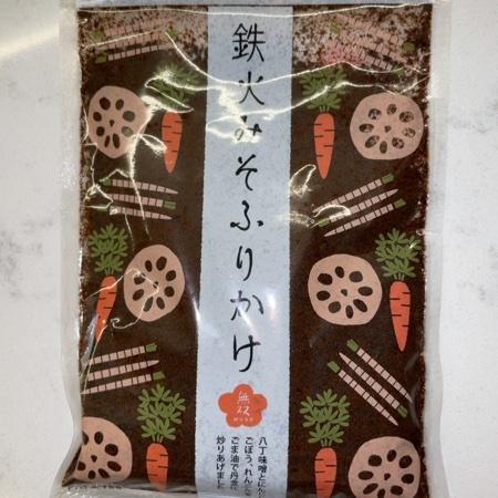 鉄火味噌ふりかけ 【ムソー】のパッケージ画像
