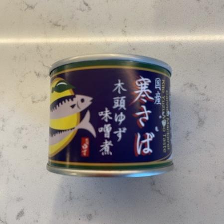 寒さば 木頭ゆず味噌煮 【黄金の村】【缶】のパッケージ画像