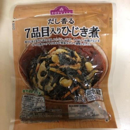 トップバリュ 7品目入りひじき煮 【イオン】のパッケージ画像