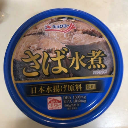 さば水煮 【キョクヨー】【缶】のパッケージ画像