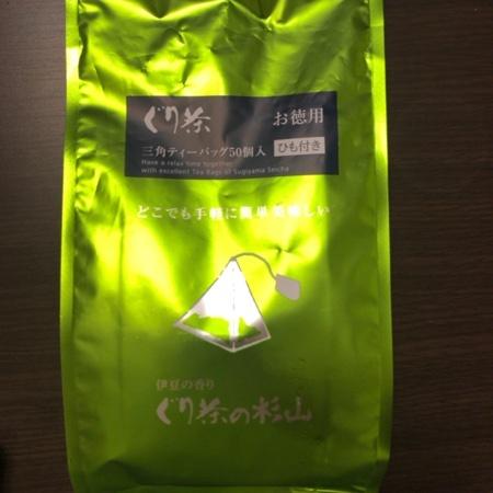 ぐり茶 【杉山製茶工場】のパッケージ画像