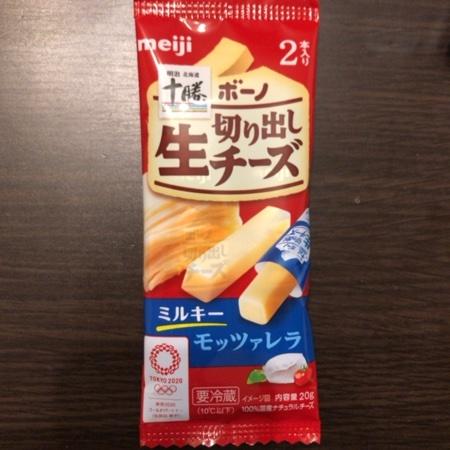 北海道十勝ボーノ 切り出し生チーズモッツァレラ 【明治】のパッケージ画像