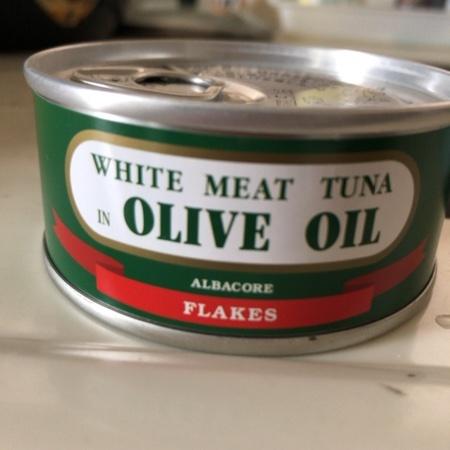 ホワイトシップ印 まぐろオリーブ油漬フレーク 【由比缶詰所】【缶】のパッケージ画像