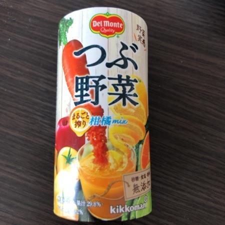 つぶ野菜 まるごと搾り 柑橘mix 【デルモンテ】のパッケージ画像
