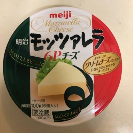 モッツァレラ 6Pチーズ 【明治】のパッケージ画像