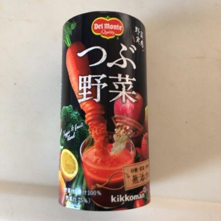 つぶ野菜 125ml 【デルモンテ】のパッケージ画像