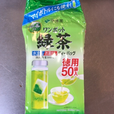 ワンポット抹茶入り緑茶 ティーバッグ 【伊藤園】のパッケージ画像