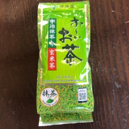 おーいお茶 宇治抹茶入り玄米茶 【伊藤園】のパッケージ画像