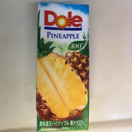 パイナップル100% 【Dole】のパッケージ画像
