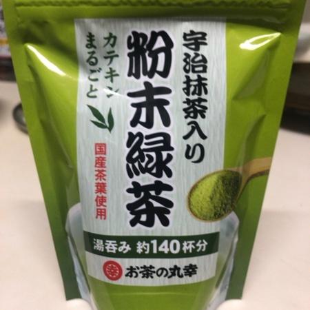 宇治抹茶入り粉末緑茶 【丸幸】のパッケージ画像