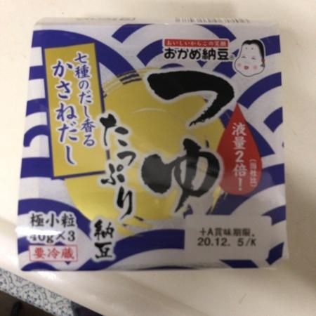 つゆたっぷり納豆 【タカノフーズ】のパッケージ画像