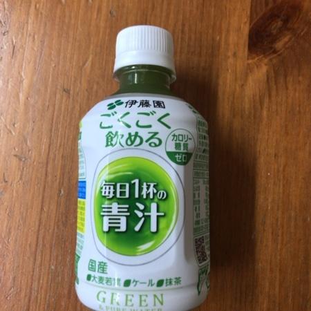 ごくごく飲める毎日1杯の青汁 【伊藤園】のパッケージ画像