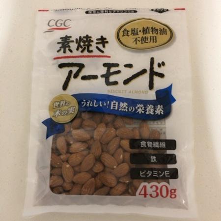 素焼きアーモンド 【CGC】のパッケージ画像