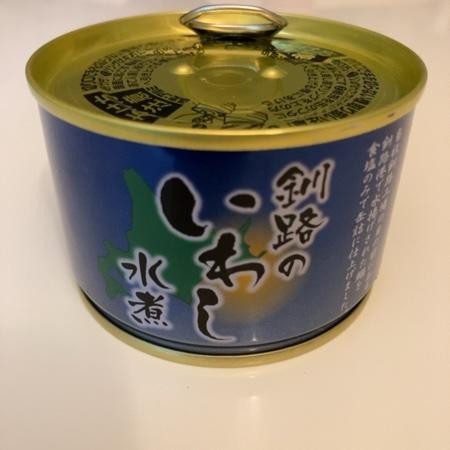 釧路のいわし水煮 【マルハニチロ】【缶】のパッケージ画像