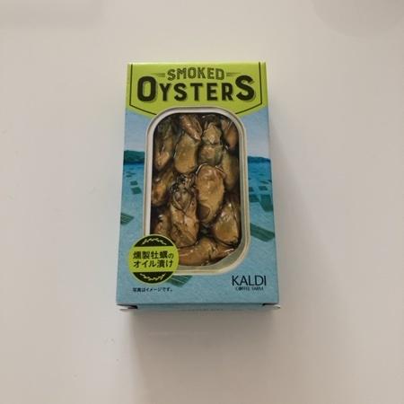 燻製牡蠣のオイル漬け 【カルディ】のパッケージ画像