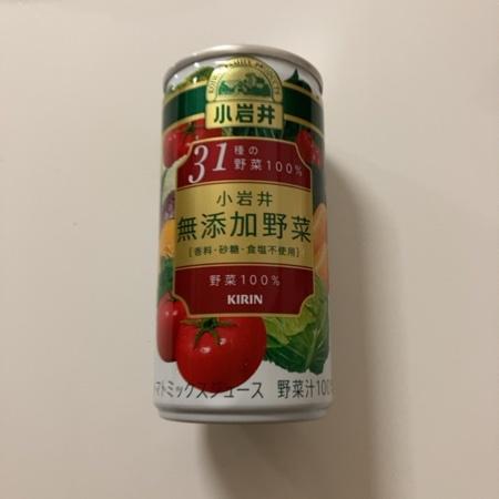 小岩井 無添加野菜 31種の野菜100% 【キリン】のパッケージ画像