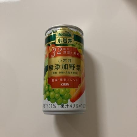 小岩井 無添加野菜 32種の野菜と果実 【キリン】のパッケージ画像