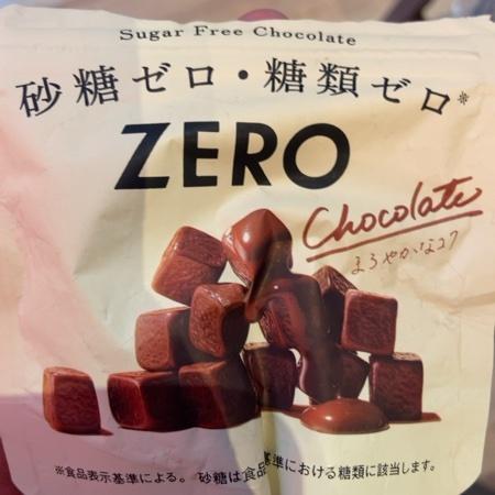 ゼロ シュガーフリーチョコレート 【ロッテ】のパッケージ画像