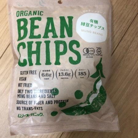 有機緑豆チップス 【ムソー】のパッケージ画像