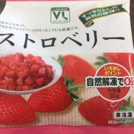ストロベリー 【ローソン】【冷凍】のパッケージ画像