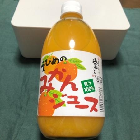 えひめのみかんジュース 【伯方果汁】のパッケージ画像