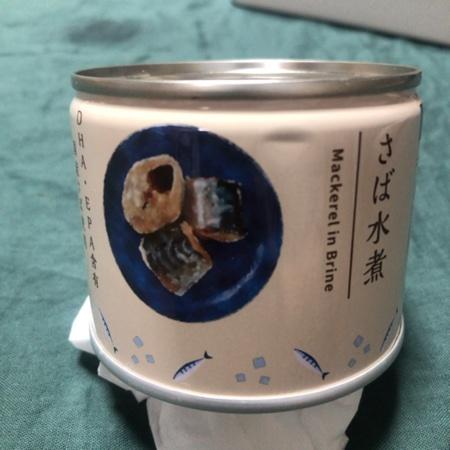 さば水煮 【ローソン】【缶】のパッケージ画像