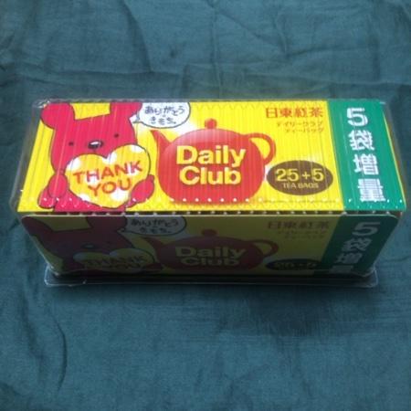 デイリークラブ ティーバッグ 【日東紅茶】のパッケージ画像