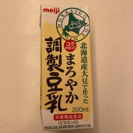 まろやか調製豆乳 【明治】のパッケージ画像
