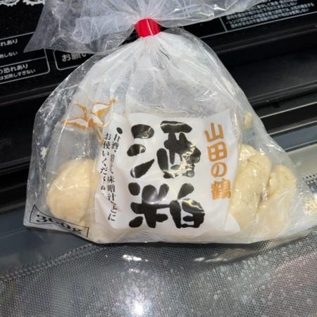 山田の鶴 酒粕 【山田酒造食品】のパッケージ画像